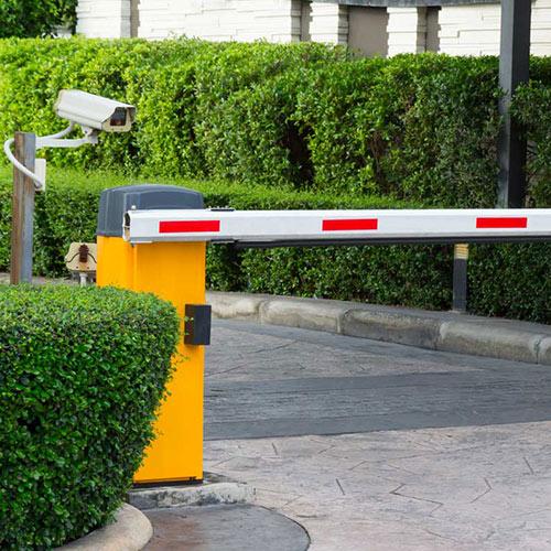 Bariere acces auto
