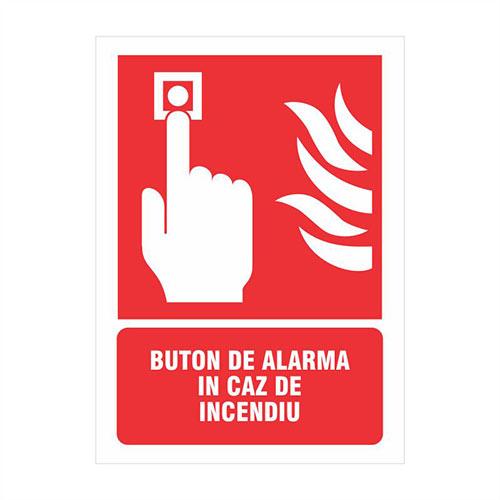 buton alarma incendiu