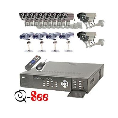 sisteme supraveghere video 16 camere