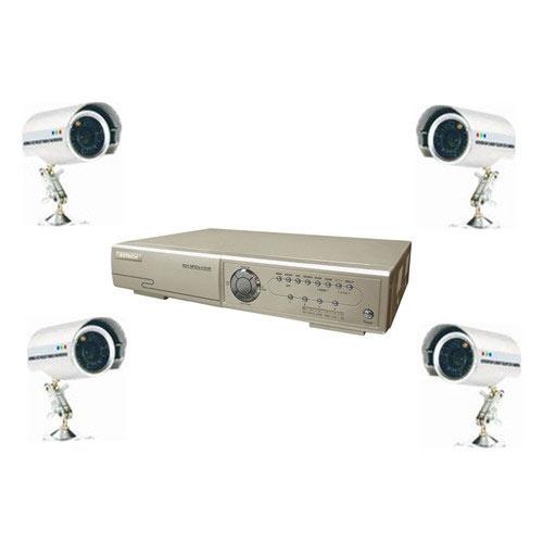 sistem supraveghere video 4 camere